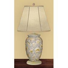 "Shells Ashore 26"" H Table Lamp with Empire Shade"