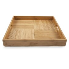 Criss-Cross Square Serving Tray