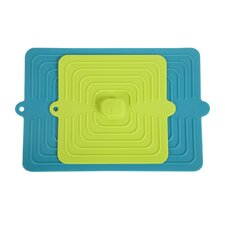 2 Piece Square Suction Lid Set