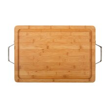 Pro Chef Chop Block with Well & Handles