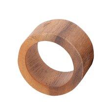 Acacia Modern Napkin Ring (Set of 4)