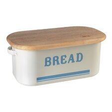 Vintage Inspired Tin Bread Box