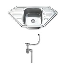 95cm x 50cm Stainless Steel Kitchen Sink
