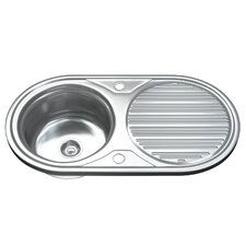 84cm x 44cm Kitchen Sink