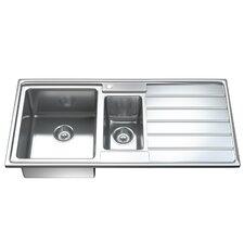 97 cm x 50 cm Küchenspüle Ultra Modern