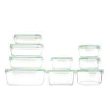 Glassworks 18 Piece Oven Safe Food Storage Container Set