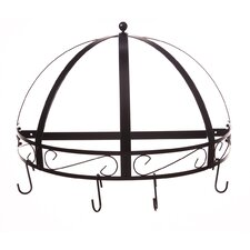 Classicor Series Wrought-Iron Semicircle Pot Rack