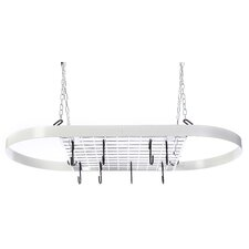 Classicor Wrought-Iron Oval Pot Rack