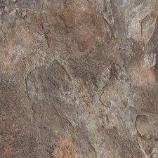 "DuraCeramic Sierra Slate 16"" x 16"" x 4.06mm Luxury Vinyl Tile in Rain Cloud"