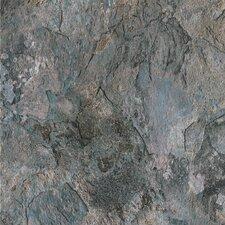 """DuraCeramic Sierra Slate 16"""" x 16"""" x 4.06mm Luxury Vinyl Tile in Blue Slate"""