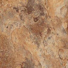 "DuraCeramic Sierra Slate 16"" x 16"" x 4.06mm Luxury Vinyl Tile in Flaxen"