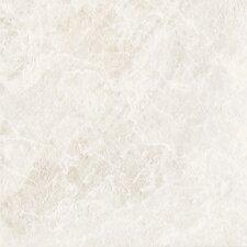"DuraCeramic Pacific Marble 16"" x 16"" x 4.06mm Luxury Vinyl Tile in Pure White"