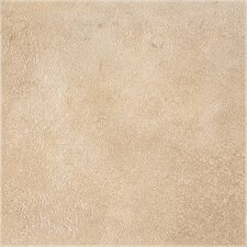 "DuraCeramic Earthpath 16"" x 16"" x 4.06mm Luxury Vinyl Tile in Sunny Clay"