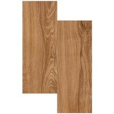 "Endurance 6"" x 36"" x 2mm Luxury Vinyl Plank in Chestnut"