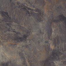 "DuraCeramic Village Slate 16"" x 16"" x 4.06mm Luxury Vinyl Tile in Stormy Night"