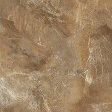 "DuraCeramic Village Slate 16"" x 16"" x 4.06mm Luxury Vinyl Tile in Tiger Eye"
