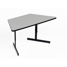 Keyboard Height Melamine Computer and Training Table
