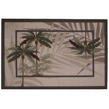 Supreme Palm Fronds Area Rug