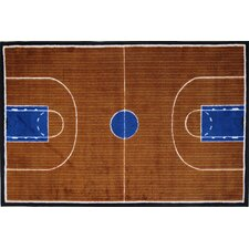 Supreme Basketball Court Kids Rug