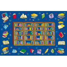 Fun Time Reading Time Area Rug