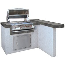 "48"" 4-Burner Liquid Propane Gas Grill"
