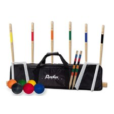 Deluxe Combo Croquet Game Set