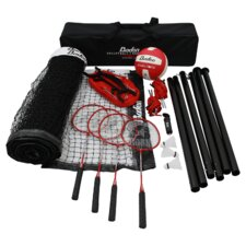 Champions 22 Piece Badminton & Volleyball Set
