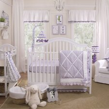 Papillon 4 Piece Crib Bedding Set