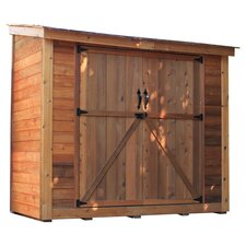 SpaceSaver 8 Ft. W x 4 Ft. D Garden Shed with Double Doors
