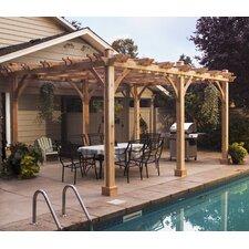 Breeze 16 Ft. W x 12 Ft. D Cedar Pergola