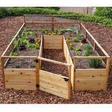 8' x 12' Cedar Raised Garden Bed