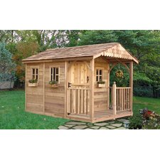 Santa Rosa 8 Ft. W x 12 Ft. D Wood Storage Shed