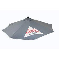9' Coors Light Round Premium Umbrella