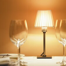 Cotton Table Lamp with Empire Shade