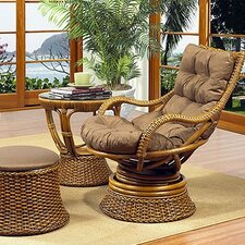 Biscayne Woven Rattan Chair