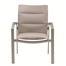 Elance Stacking Padded Sling Dining Arm Chair
