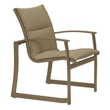 MainSail Padded Sling Dining Arm Chair