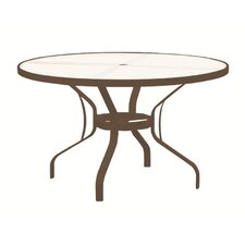 Dining Table with Umbrella Hole