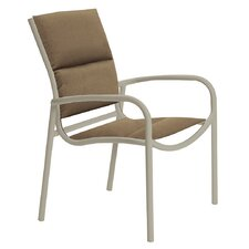 Millennia Padded Sling Dining Arm Chair