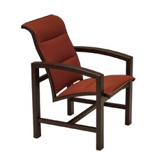Lakeside II Padded Sling Dining Arm Chair