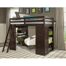 Skyway Twin Loft Bed with Storage