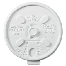 Lift n' Lock Plastic Hot Cup Lids for 6-10 oz. Cups (Carton of 1,000)