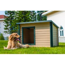 EcoChoice Rustic Lodge Style Dog House