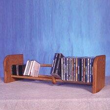100 Series 55 CD Multimedia Tabletop Storage Rack