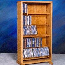 500 Series 210 CD Dowel Multimedia Storage Rack