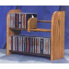 200 Series 84 CD Multimedia Tabletop Storage Rack