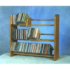 300 Series 165 CD Multimedia Tabletop Storage Rack
