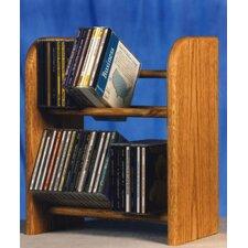 200 Series 52 CD Dowel Multimedia Tabletop Storage Rack