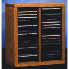 200 Series 40 CD Multimedia Tabletop Storage Rack