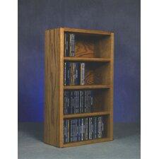 400 Series 104 CD Wall Mounted Multimedia Storage Rack